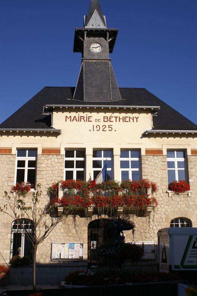 Das Rathaus in Bétheny